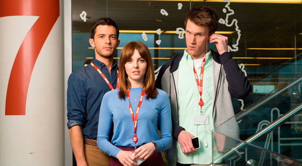 Cast members of comedy W1A