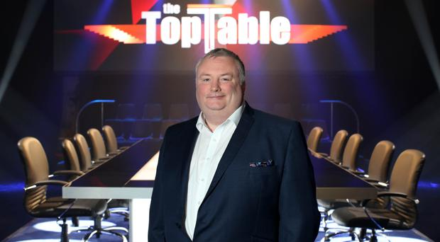 Presenter Stephen Nolan returns to our screens with new series, The Top Table