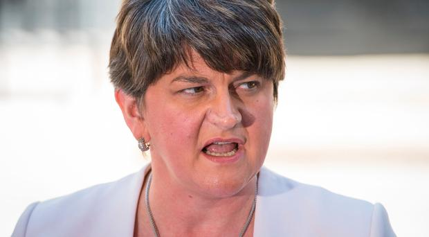 DUP leader Arlene Foster said the treatment of her fellow party representatives was a disgrace.
