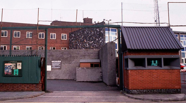 Castlereagh PSNI station in east Belfast is one of Northern Ireland's most highly fortified police bases