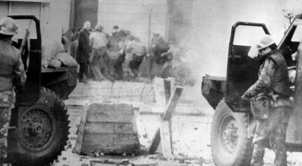 A public inquiry into the Bloody Sunday killings heard evidence that Official IRA members fired shots at soldiers in Derry