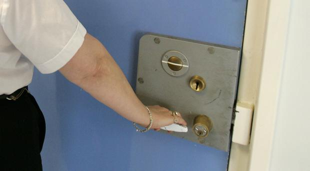 Prison staff are understood to be investigating a suspected drugs link