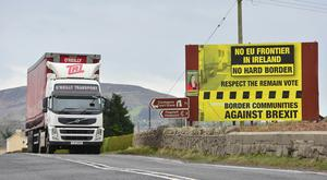EU motion calls for the border to be shifted to the Irish Sea