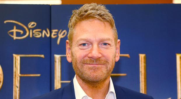 Honoured: Sir Kenneth Branagh