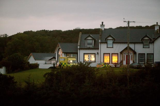 The house at Whitepark Road in Ballycastle where the fire happened