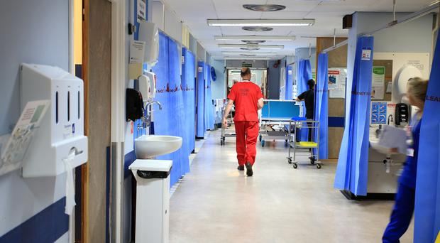 'The problems in the health service continue to mount - lengthening waiting lists, rock-bottom staff morale and services at breaking point' (stock photo)