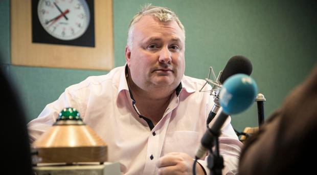 Stephen Nolan said he felt naive discussing the matter on his radio show.