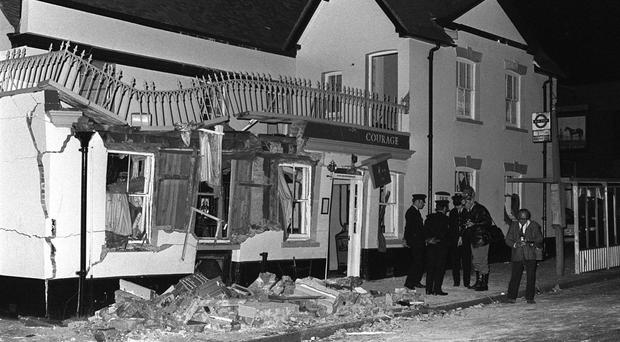 The Horse and Groom pub in Guildford where seven people died in 1974