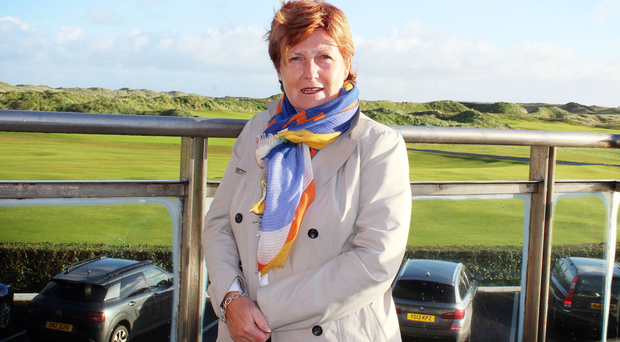 Wilma Erskine, manager of Royal Portrush Golf Club