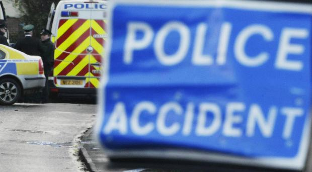 A woman was killed in a road accident in Derrylin, County Fermanagh