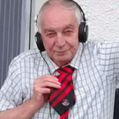 Billy Whiteside wearing his Crusaders tie