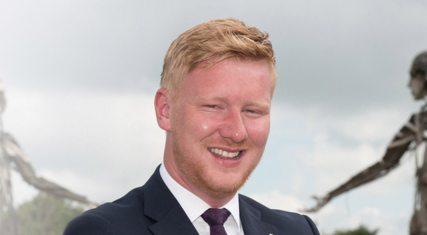 The SDLP's Daniel McCrossan