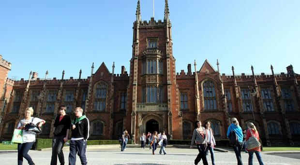 Queen's in Belfast is exploring shared professorships with colleges in Dublin and elsewhere south of the Irish border