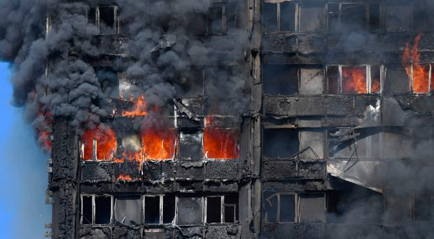 A judge at Londonderry Crown Court said he was mindful of the Grenfell Tower tragedy after sentencing a man for setting a fire in a flats complex in the city