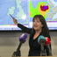 Evelyn Cusack from Met Éireann warning of potential threat to life as Hurricane Ophelia looms