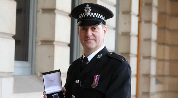 Belfast Harbour Police Constable Scott Harkins, who received agallantry medal for rescuing a woman from the freezing waters of Belfast Lough, is now also to be honoured with an award from the Royal Humane Society
