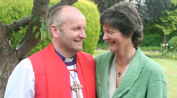 Rt Rev Alan Abernethy with his wife Liz