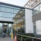 Ulster Hospital in Belfast has set up a waiting room with a strict food and drink ban