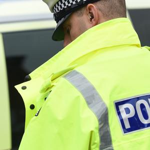 Police rescued a man from Lough Neagh