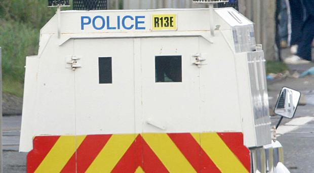 The PSNI said a man in his 50s was found dead at an address in Rasharkin, Co Antrim