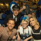 Joe Swash and Stacey Soloman with Emily Campbell and British Airways Captain Al Bridger on the Dreamflight trip to Florida