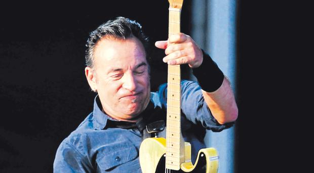 Springsteen's Kings Hall show was two decades ago