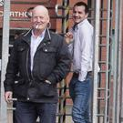 Patrick Watson and son Liam at an earlier court appearance