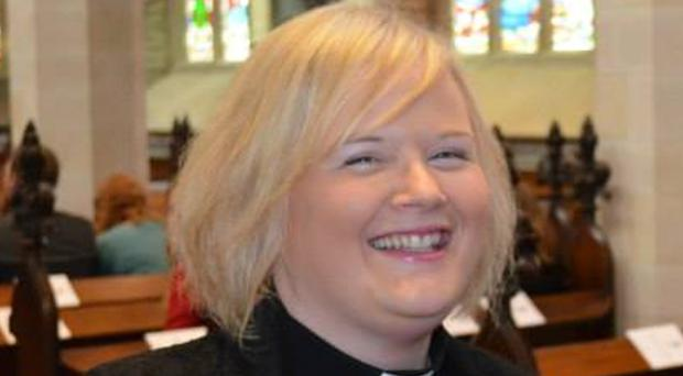 Rev Catherine Simpson, Curate Assistant in Seapatrick