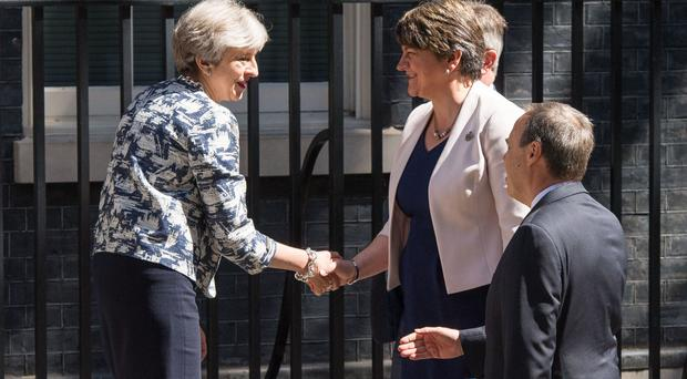 The parliamentary deal saw DUP MPs agree to support the Conservatives' minority government in a series of key Westminster votes