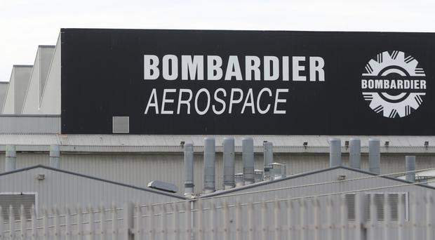 The Bombardier Aerospace plant in Belfast