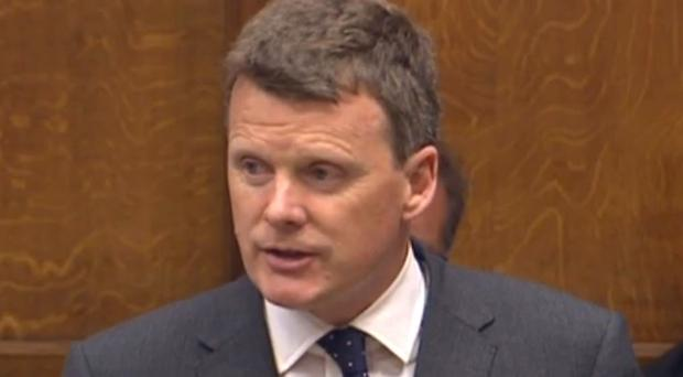 Richard Benyon served in the British Army in Northern Ireland