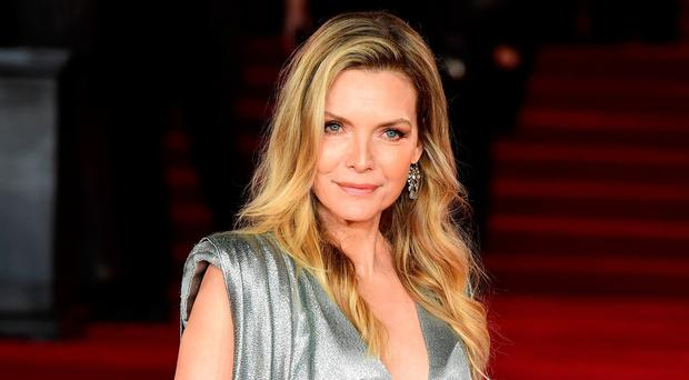 Michelle Pfeiffer attending the world premiere of Murder On The Orient Express at the Royal Albert Hall, London. PRESS ASSOCIATION Photo. Picture date: Thursday November 2, 2017. See PA story SHOWBIZ Murder. Photo credit should read: Ian West/PA Wire.