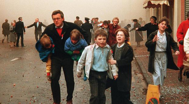 The Enniskillen Poppy Day bomb killed 11 people at Cenotaph