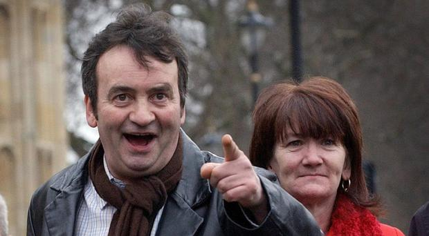 Gerry Conlon with his sister Ann, who has asked for the 1974 Guildford pub bombings inquests to be resumed