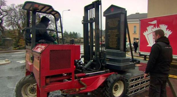 The Memorial To The Victims Of The Enniskillen Bombing Is Removed  Has No Objection