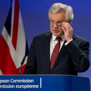 Brexit Secretary David Davis played down 'no deal' concerns