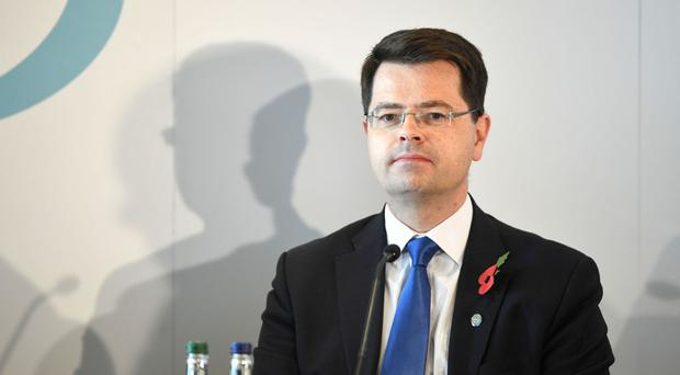 James Brokenshire revealed an increase in health spending of 5.4%