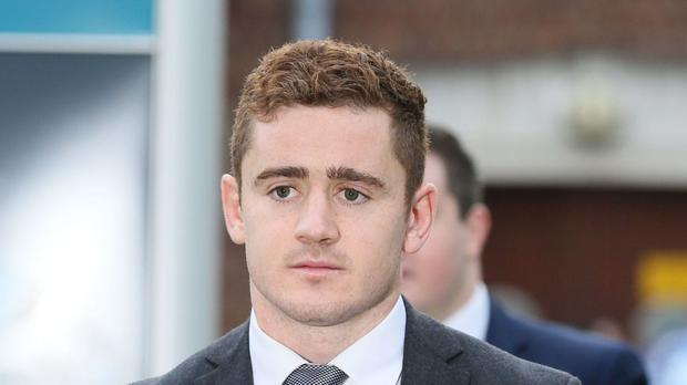 Ireland and Ulster rugby player Paddy Jackson