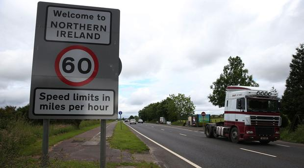 The Irish border is one of the key issues under discussion during EU exit talks in Brussels