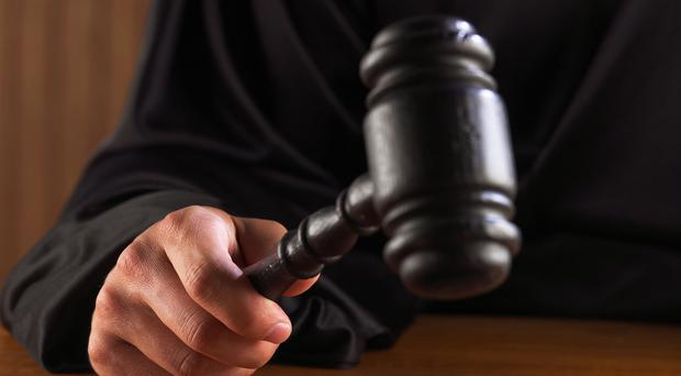 A man accused of imprisoning and choking a girlfriend allegedly attacked and threatened to kill his mother when she tried to stop him, the High Court heard on Thursday.