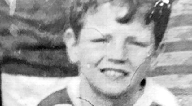 Francis Rowntree, as a soldier who fired a rubber bullet that killed the Northern Ireland schoolboy in 1972 was granted anonymity at the inquest (Family handout/PA)