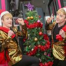 Jedward launch the 2017 Family Appeal in Belfast yesterday