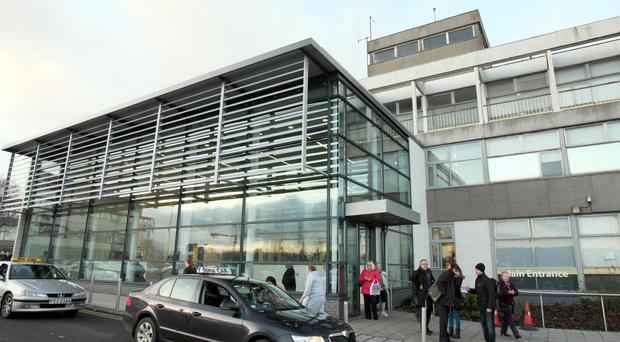 A 34-year-old woman was admitted to the Ulster Hospital with a burn to the hand