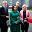 Sinn Fein president Gerry Adams and party colleagues