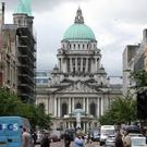 Belfast (pictured) and Londonderry entered a joint application together with Strabane town to share the accolade