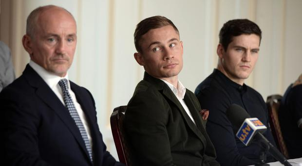 Boxer Frampton set for legal battle with McGuigan firm