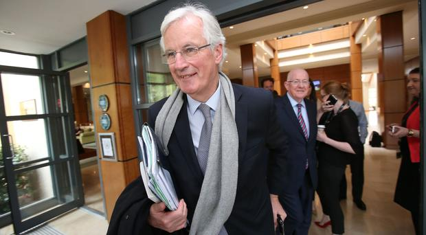 Michel Barnier said Britain must honour its commitments for the EU budget between 2014 and 2020