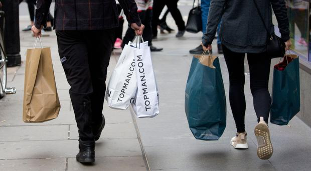 'Overall, footfall on Northern Ireland's high streets dropped by 12.2% over the entire Black Friday weekend, and by 4% in the week leading up to it'