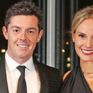 Rory McIlroy with his wife Erica
