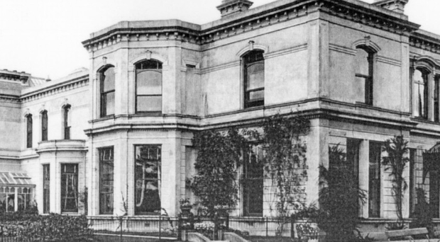 Milford House in 1907
